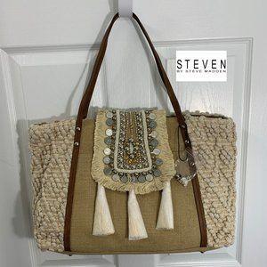 "Steven by Steve Madden Boho ""Jali"" Huge Tote Bag"